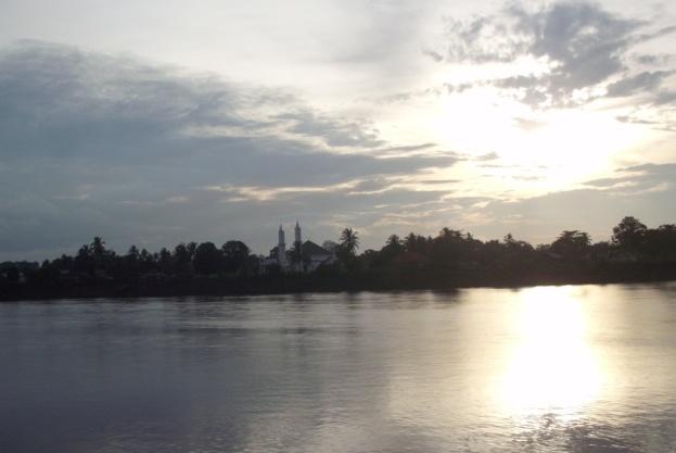 Sungai Musi dari Sekayu