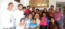 Keluarga Kissparry foto bersama di Silaturrahmi Sekayu 2016