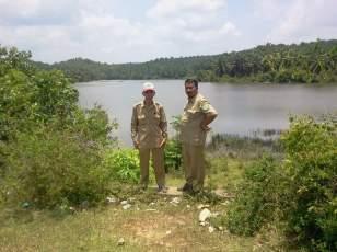 Danau Konger di Kecamatan Sungai Keruh Musi Banyuasin