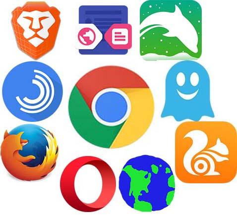 10 Peramban (Browser) Internet Terbaik Android