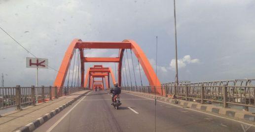 Jembatan Musi II Palembang