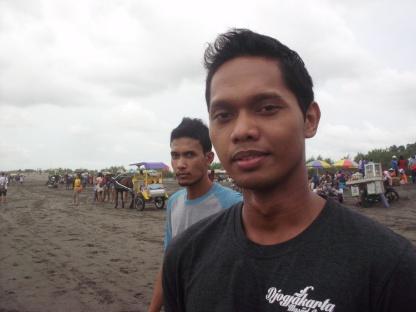 Rachmad dan Aditya di Parangtritis