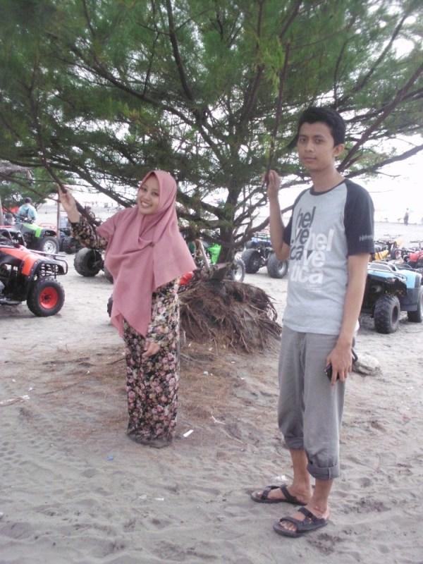 Persewaan ATV untuk berkeliling pantai