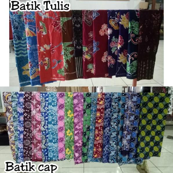 Hasil Produksi Batik KTM Telang