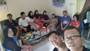 Silaturahmi di Semarang 2017, 02 April, Maryadi Boyolali dan mas Ambar-Narti