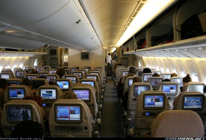 Perjalanan dengan Pesawat Terbang, Bagaimana Berbuka?