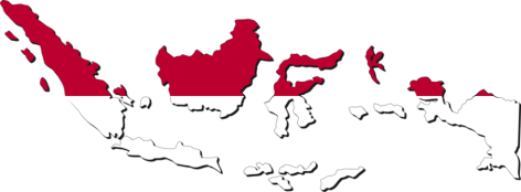 indonesiamapwithflagcolors