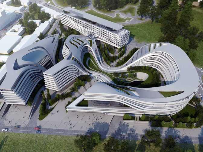 Gedung Kesenian Bandung Didisain oleh Zaha Hadid
