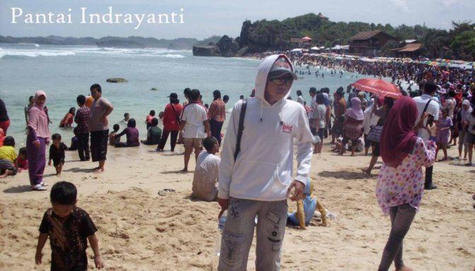 Coretan di Pasir Pantai