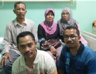 Silaturahmi keluarga Sekayu, Klaten, Pematang di Palembang