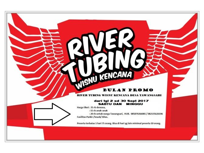 Wisnu Kencana River Tubing Tawangsari Boyolali Dibuka Tarif Promo 2 – 30 September