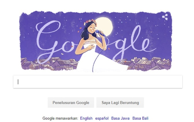 Hari Ini Google Doodle Mengenang Teresa Teng Sang Penyanyi Legendaris