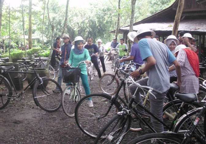 Wisata Sepeda (Gowes), Kampung Wisata Wanureja Borobudur