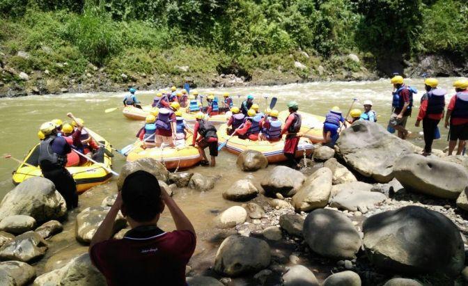 Serunya Arung Jeram Sungai Serayu, Silaturahmi Ala Paguyuban Sekar Langit