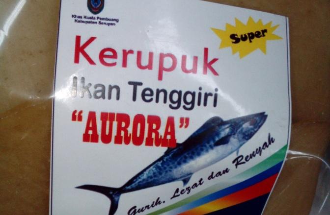 Kerupuk Ikan Tengiri Khas Kuala Pembuang, Seruyan Kalimantan Tengah