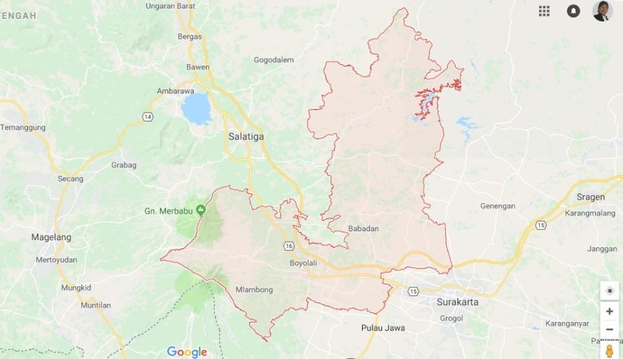 peta-Boyolali-jawa-tengah-Google