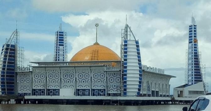 Masjid Terapung Kota Kendari (Masjid Al Alam Kendari)