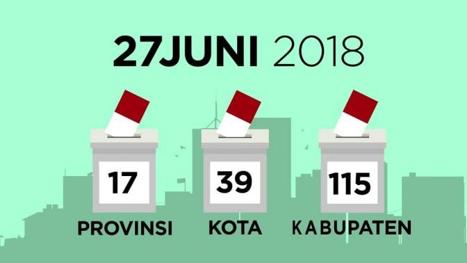 Hari Pemungutan Suara Pilkada Serentak 2018, 27 Juni sebagai Hari Libur Nasional