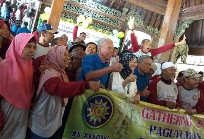 Akrab dan Cerianya Gathering & Halal bi Halal RS Roemani di Kampoeng Djowo Sekatul Kendal