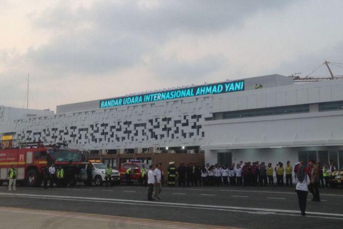 Terminal Baru (New) Bandar Udara Internasional Ahmad Yani Semarang Lebih Moderen