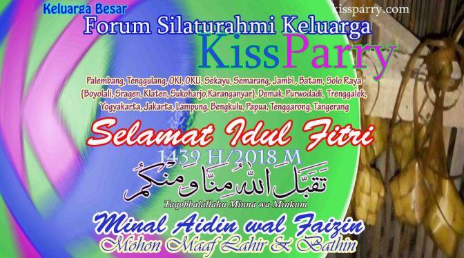 Selamat Idul Fitri,  Taqobbalallahu Minna wa Minkum, Minal Aidin wal Faizin