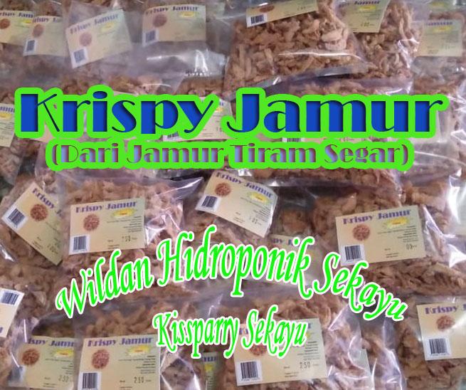 Krispy Jamur siap kirim WHS Kissparry