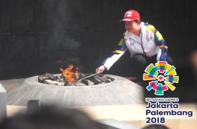Api Abadi Mrapen Grobogan Jateng Ikut Menyemangati Asian Games 2018 Jakarta-Palembang