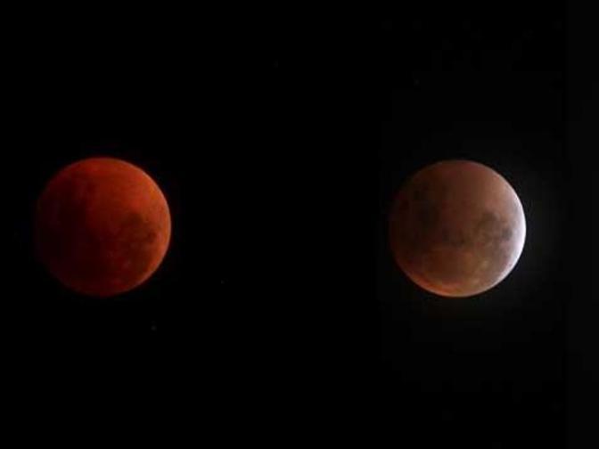 Fenomena Langka Gerhana Bulan Total Blood Moon 28 Juli 2018