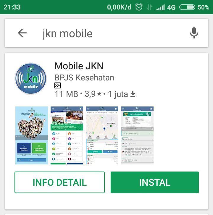 JKN mobile instal