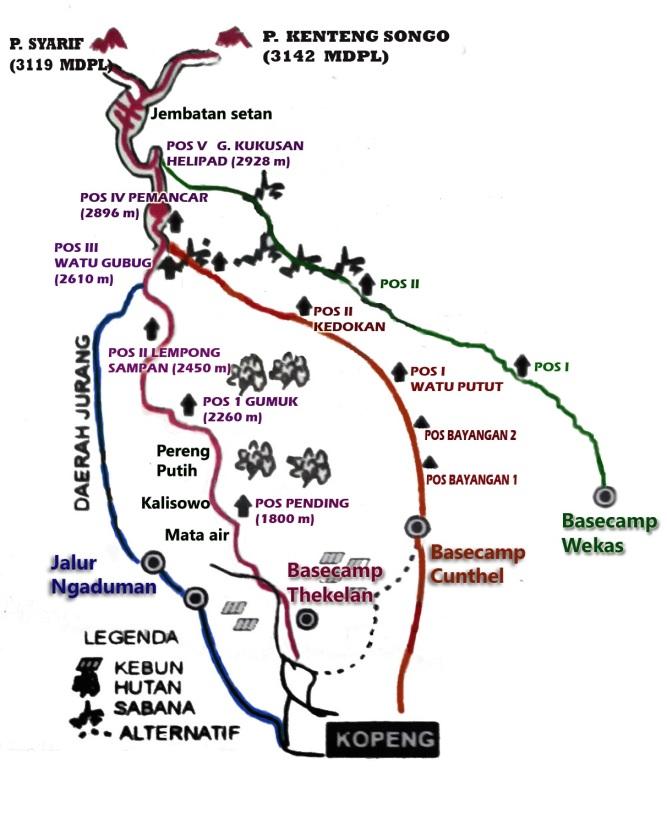 Jalur Utara Merbabu fix-1