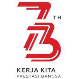 Logo Resmi Kemerdekaan HUT RI ke-73 17 Agustus 2018 (Cdr, Psd, Png)