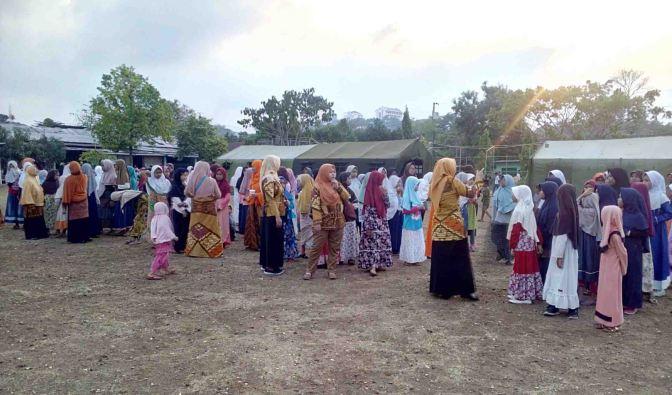 Santri TPQ Se-Candisari Semarang sangat Antusias Mengikuti Perkemahan Santri