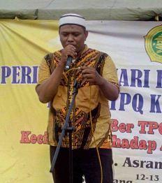 Laporan Ketua Panitia pada Perkemahan Santri Sabtu Minggu di Lapangan Asrama TNI AD Mrican Semarang