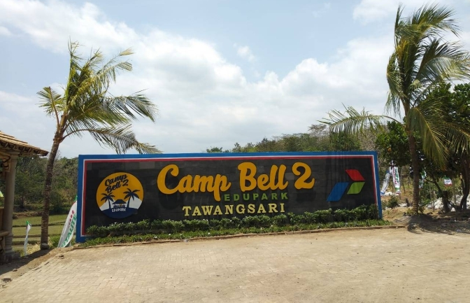 Camp Bell 2 Edupark Tawangsari Kecamatan Teras Boyolali di Launching