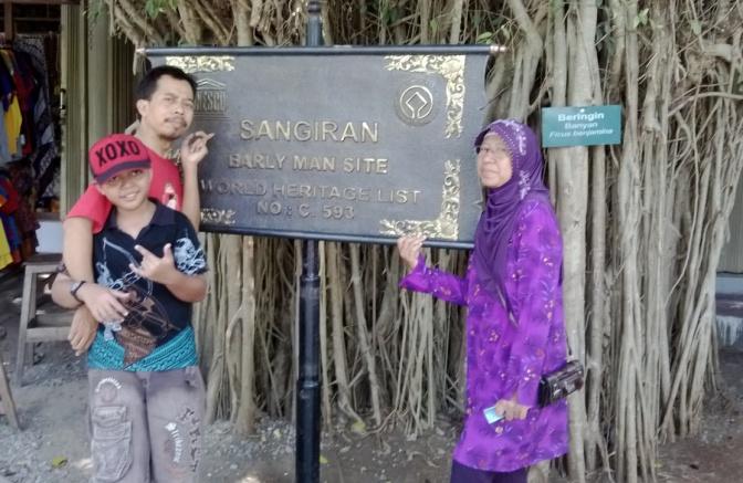 SANGIRAN Museum Manusia Purba, Sragen (Solo) Jawa Tengah