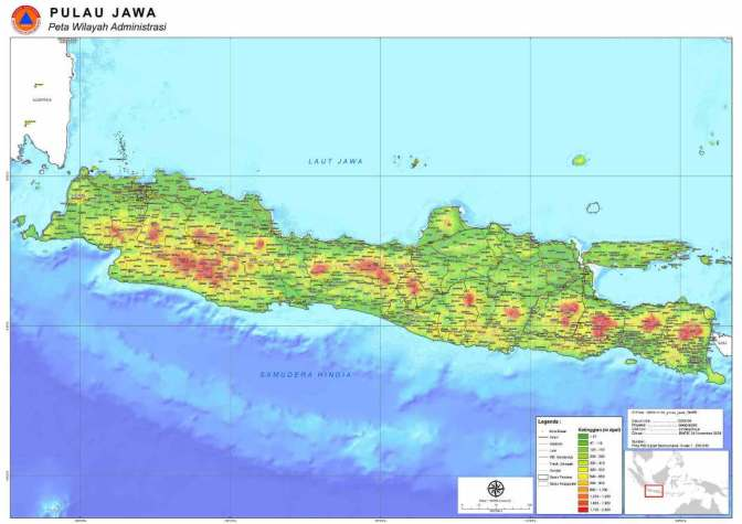 Sejarah Terbentuknya Pulau Jawa, Indonesia