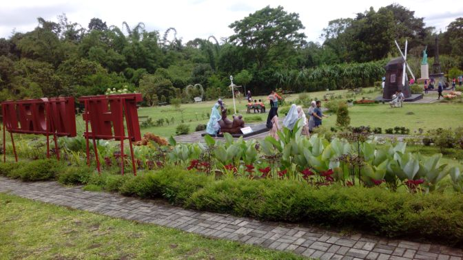 Merapi Park, the World Landmark, Miniatur Bangunan Tersohor Dunia