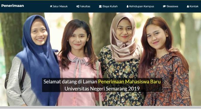 Alamat Web Seleksi Mandiri Penerimaan Mahasiswa Baru PTN Indonesia