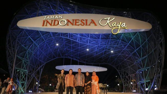 Taman Indonesia Kaya Ikut Mempercantik Kota Semarang