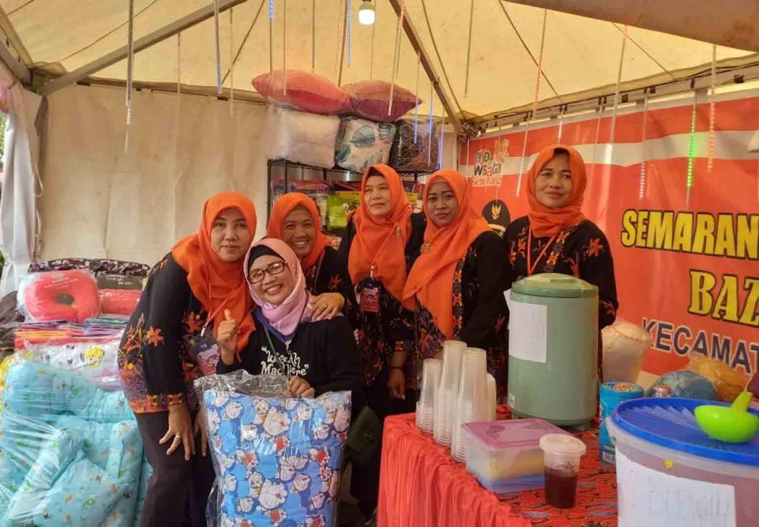 UMKM Mekarsari Kecamatan Candisari Ikuti Even Semarang Intoducing Market 2019