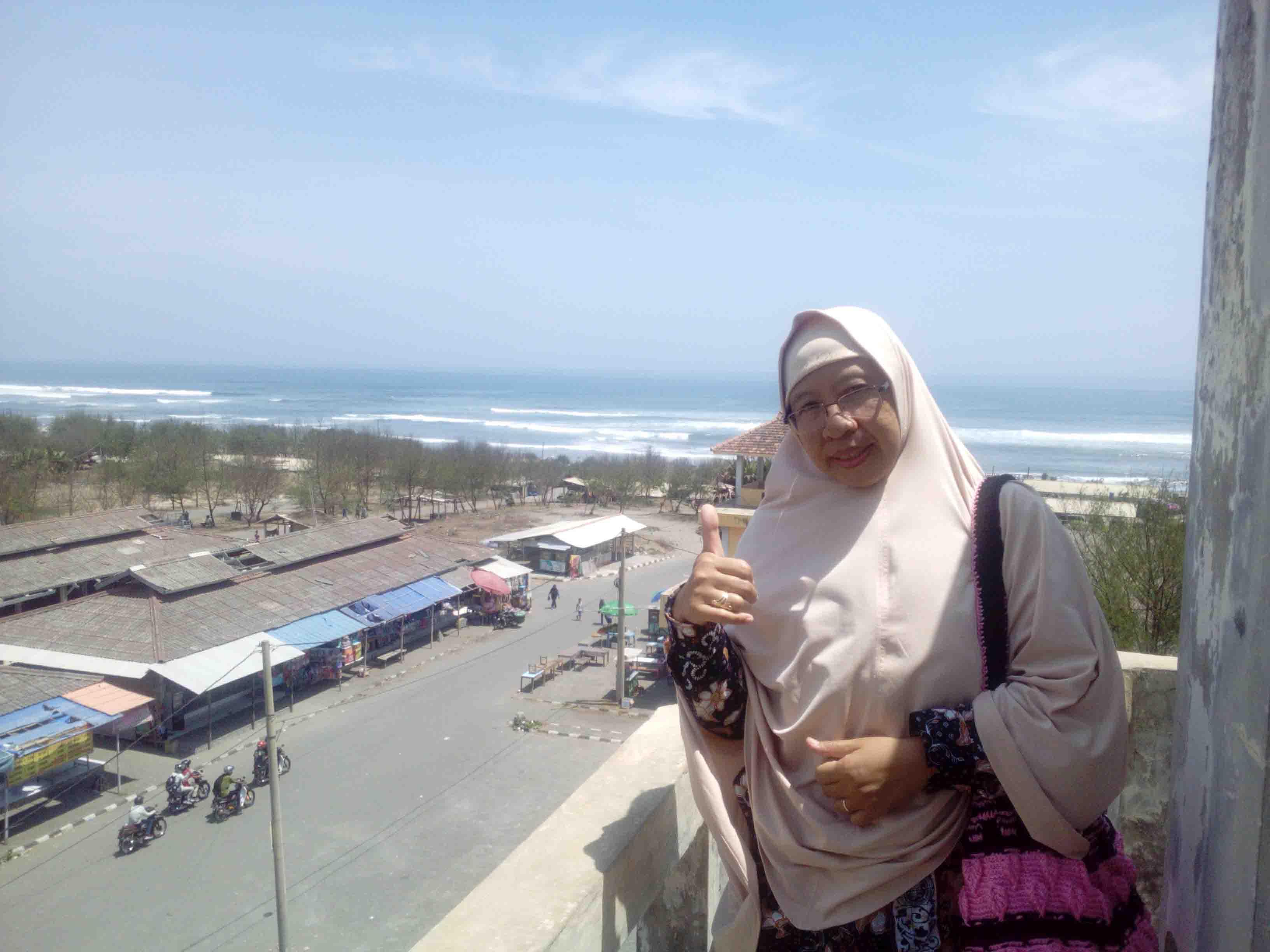 Keliling Pantai Parangtritis Bantul Yogyakarta dengan Delman