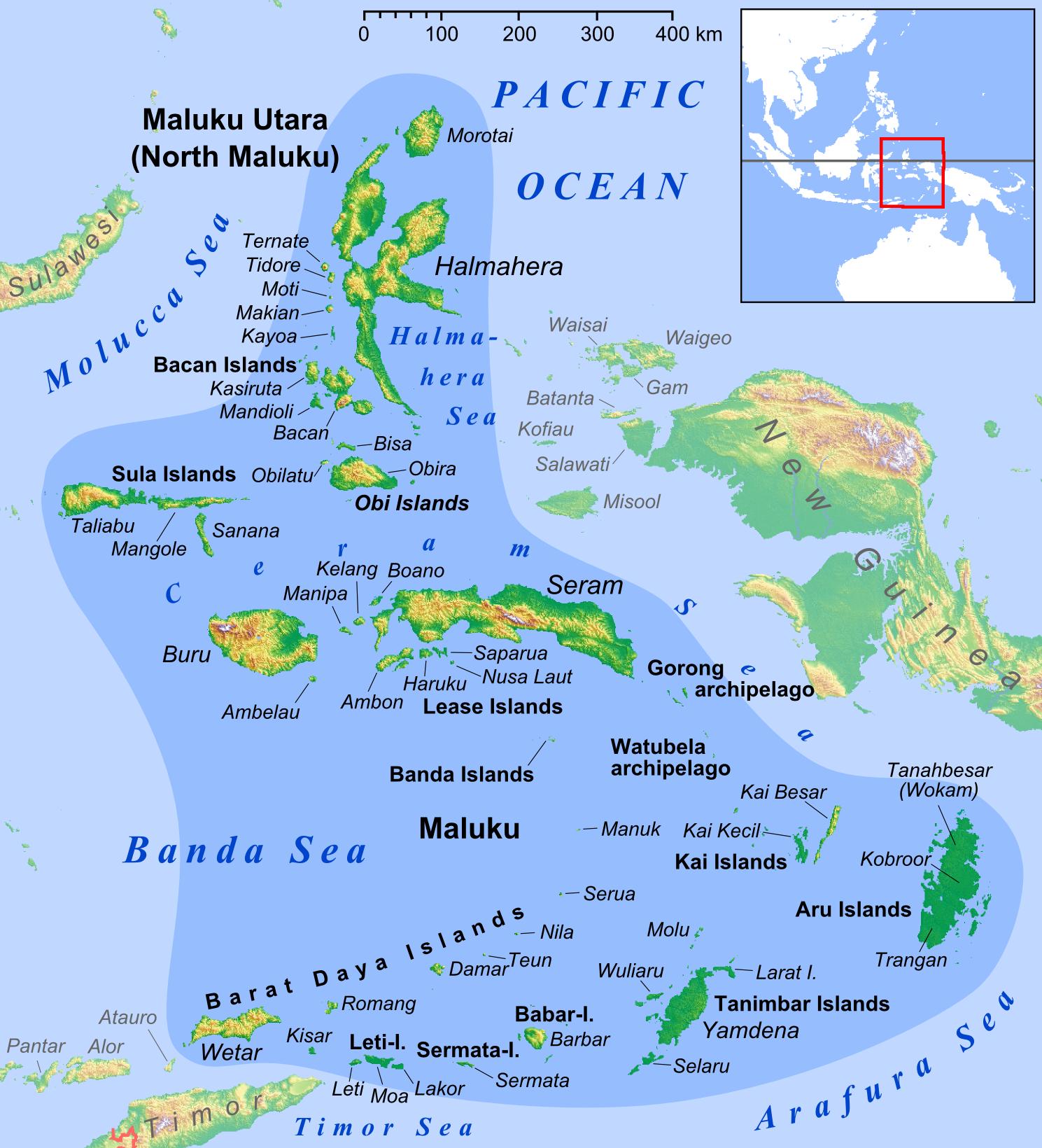 Nama Kabupaten Dan Kota Di Kepulauan Maluku Berjumlah 21 Kabupaten Kota Kissparry