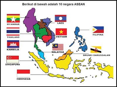 Gambar Negara Asean Beserta Ibukotanya Selamat Ulang Tahun Asean Ke 53 8 Agustus 1967 8 Agustus 2020 Kissparry